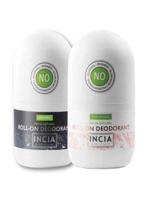 INCIA Doğal Roll-on Deodorant Set 9900000044946 0