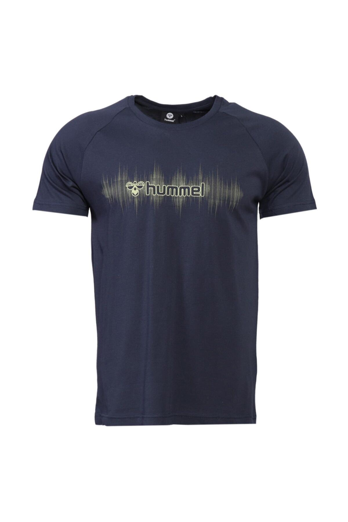 HMLPITA T-SHIRT S/S TEE Lacivert Erkek T-Shirt 101086323
