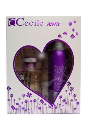 Cecile Aura Edt 100 ml + Deodorant 150 ml Set 0