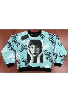 Woorage Kız Çocuk Şardonlu Sweatshirt 0