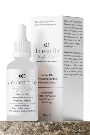 Jeuvenile Matrixyl %10 + Hyaluronic Acid %1.5 + Peptide Complex Anti-Age Kırışıklık Karşıtı Serum 30 ml 0