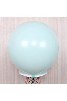KullanAtParty Makaron Balon Jumbo Boy 18 Inc 45 Cm Beyaz Renk-5 Adet 4