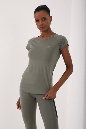 Tommy Life Çağla Kadın Sırt Pencereli Kısa Kol Standart Kalıp O Yaka T-shirt - 97101 1