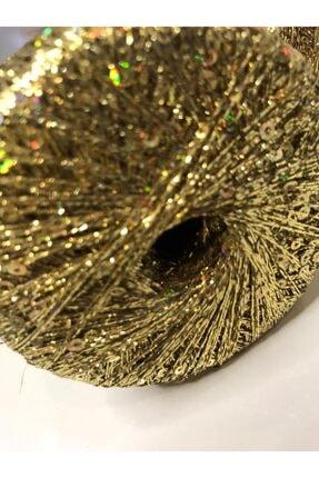 Gıybet Hobby Center Altın Renkli Simli Pullu Ip - 50gr 1