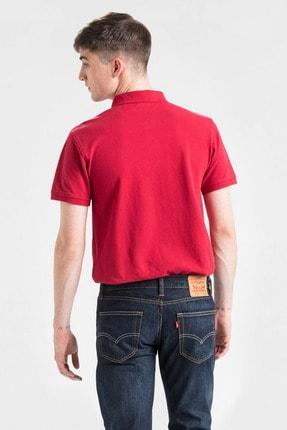 Levi's Erkek Kırmızı Housemark Good Polo Yaka T-shirt 24574-0038 1