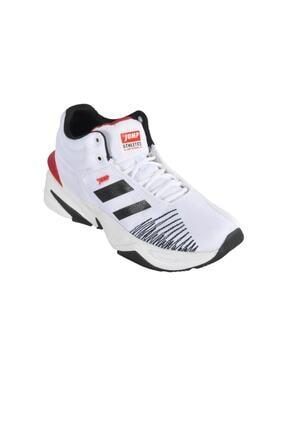 Jump 24774 Beyaz-siyah-kırmızı Erkek Spor Ayakkabı 0