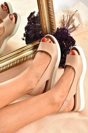 Fox Shoes Kadın Ten Rengi Sandalet K674300609 0