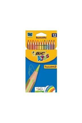 Bic Kuru Boya 12 Li Tropıcolors2 0