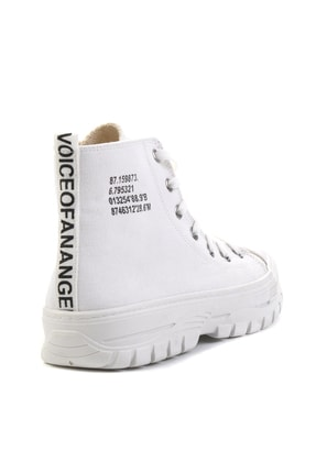Bambi Beyaz Kadın Sneaker K01530110818 3