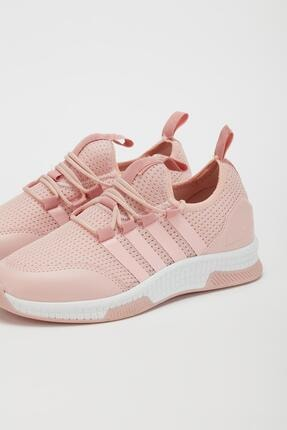 Muggo UnisexPudra Lastik Sneaker Mgforce01 3
