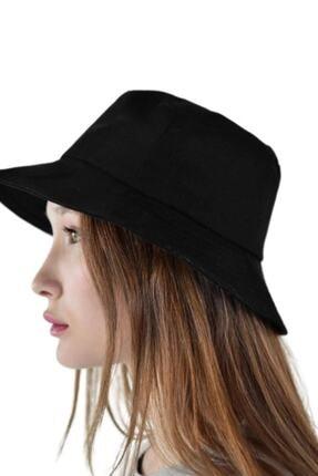 Orçun Özkarlıklı Siyah Bucket Balikçı Şapka 4