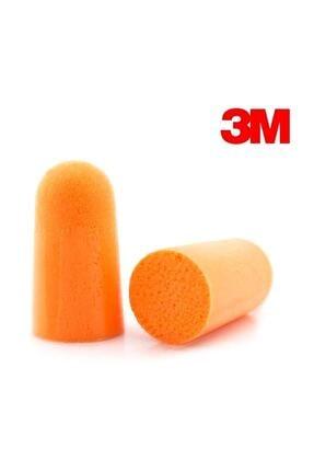 3M Orijinal 1100 Kulak Tıkacı Ses Gürültü Önleyici 10 Çift 0