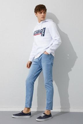 Koton Erkek Açık İndigo Jeans 1