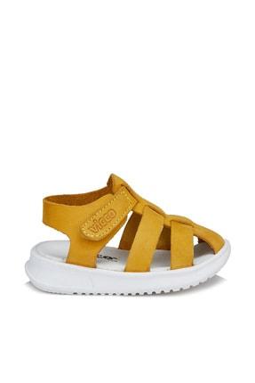 Vicco Pisa Unisex Ilk Adım Sarı Sandalet 2