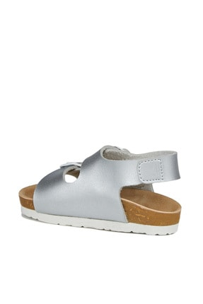 Vicco Last Kız Bebe Gümüş Sandalet 3