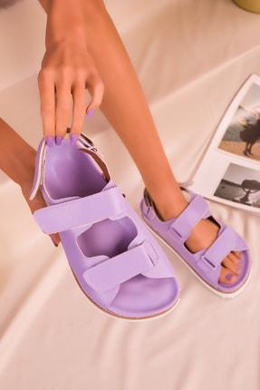 Soho Exclusive Lila Kadın Sandalet 16123 1
