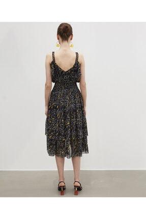 İpekyol Fırfır Şeritli Elbise 4