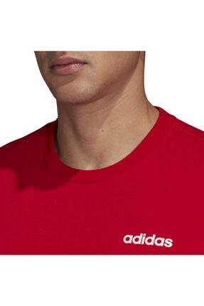 adidas Erkek Kırmızı T-shirt Fm6214 4