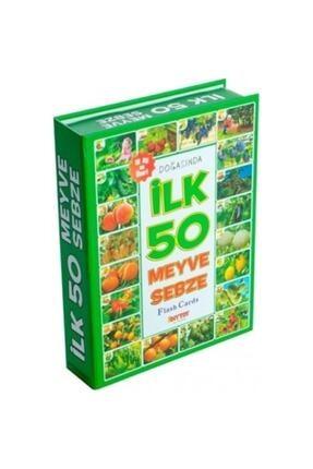 DIY Toys 4'lü Eğitim Seti ( Ilk 50 Sözcük + Ilk 50 Hayvan + Ilk 50 Sebze Meyve + Bebeğimin Ilk Zeka Kartları 2