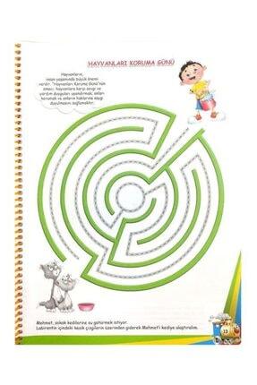 Temel 4 Yaş Mutlu Çocuklar Sokağı Okul Öncesi Eğitim Seti 3
