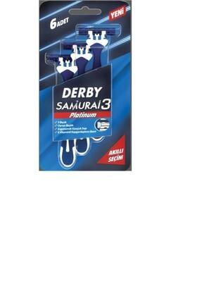 Derby Samurai 3 Platinum 6'lı 0