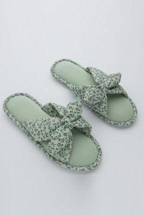 Penti Kadın Mint Yeşili Ditsy Garden Terlik 0