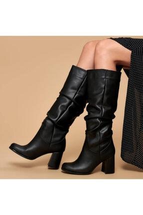 Butigo 19k-968 Siyah Kadın Çizme 0