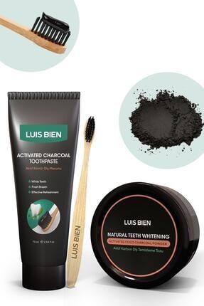 Luis Bien Diş Beyazlatma Seti + Bambu Diş Fırçası 0