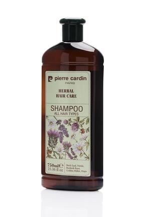 Pierre Cardin Herbal Shampoo For All Hair Types 750 ml Bitkisel Şampuan (Tüm Saç Tipleri) 1