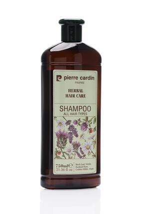 Pierre Cardin Herbal Shampoo For All Hair Types 750 ml Bitkisel Şampuan (Tüm Saç Tipleri) 2