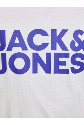 Jack & Jones Jack&jones Essentıals Erkek T-shirt Whıte 3