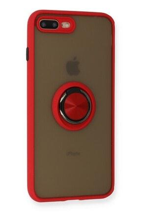 SENKA Iphone 8 Plus Kılıf Kamera Korumalı Yüzüklü Silikon Kılıf 1