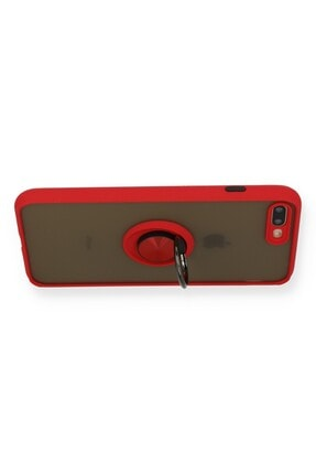 SENKA Iphone 8 Plus Kılıf Kamera Korumalı Yüzüklü Silikon Kılıf 2