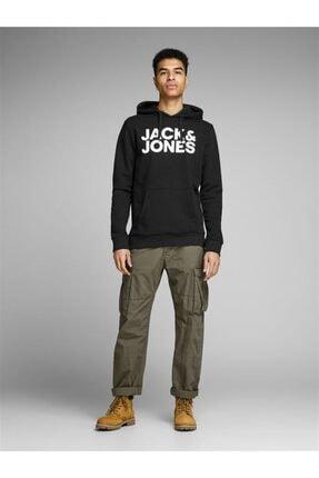 Jack & Jones Jack&jones Jjecorp Logo Sweat Hood Noos Erkek Sweatshirt 2