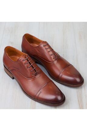MARCOMEN Kahve Hakiki Deri Bağcıklı Erkek Klasik Ayakkabı • A19eymcm0022 1
