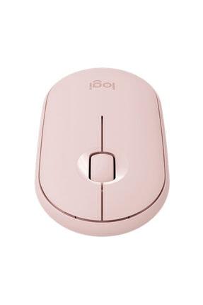 logitech Pebble M350 1000dpı Kablosuz Pembe Mouse 2