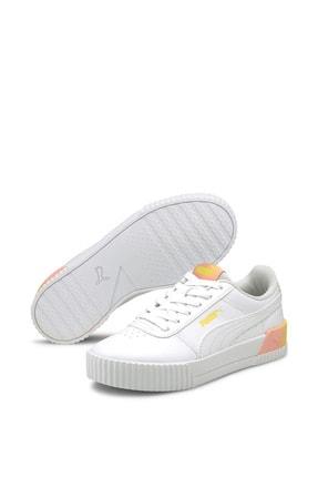 Puma Carina Summer Kadın Günlük Spor Ayakkabı - Beyaz 1
