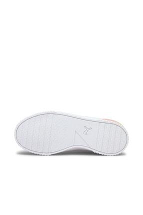 Puma Carina Summer Kadın Günlük Spor Ayakkabı - Beyaz 4