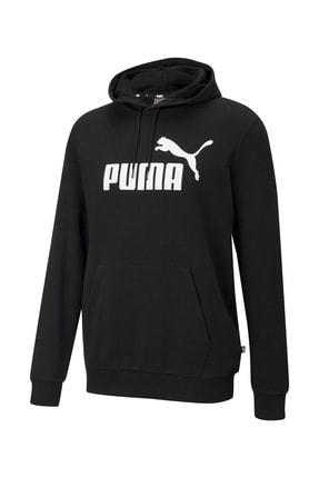 Puma ESS BIG LOGO HOODIE TR Siyah Erkek Sweatshirt 101085575 0