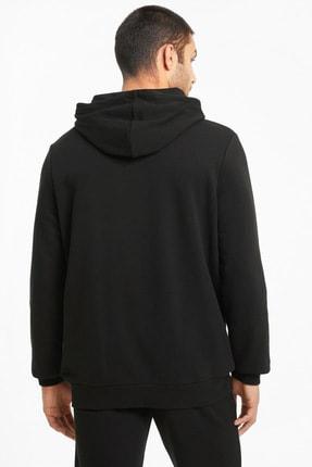 Puma ESS BIG LOGO HOODIE TR Siyah Erkek Sweatshirt 101085575 3