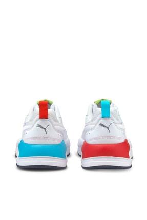 Puma X-RAY² SQUARE RAINBOW Beyaz Erkek Sneaker Ayakkabı 101085338 1