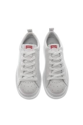 CAMPER Beyaz Erkek Sneaker K100226-052 Runner Four White Natural 4