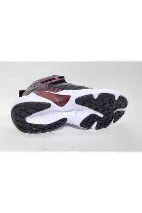 MP Kadın Siyah Bordo Spor Ayakkabı 202-1401 3