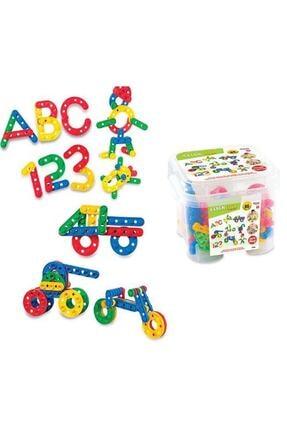 DEDE Clickclack Puzzle Küçük Boy 96 Parça 0
