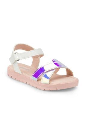 Polaris 512475.P Beyaz Kız Çocuk Sandalet 100499826 0