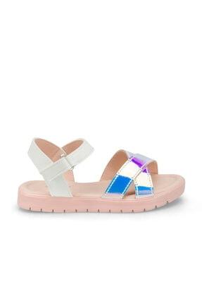 Polaris 512475.P Beyaz Kız Çocuk Sandalet 100499826 1