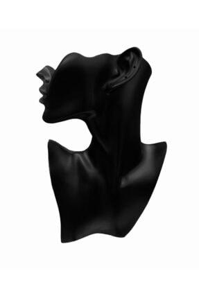 Hedef Bijuteri Polyester Küpe,kolye Takı Sergileme Vitrin Mankeni- Polyester Manken 0