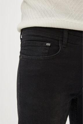 Avva Erkek Siyah Skinny Fit Jean Pantolon E003513 2