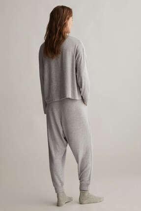 Oysho Kadın Comfort Feel Düz Tişört 4