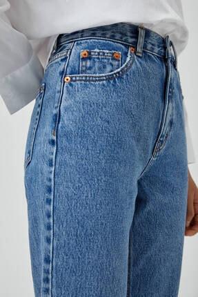 Pull & Bear Mom Fit Basic Jean 2
